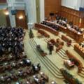Sedinta solemna in Parlament, la 100 de ani de la Unirea Basarabiei cu Romania