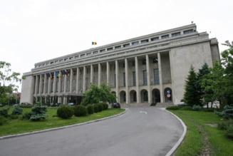 Sediul Guvernului a ramas in bezna