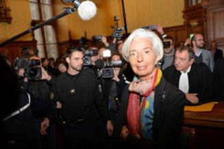 Sefa FMI, Christine Lagarde, scapa de pedeapsa, desi a fost gasita vinovata de un tribunal francez