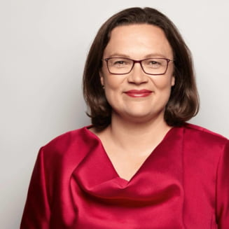 Sefa Partidului Social Democrat din Germania si-a dat demisia, dupa rezultatele de la europarlamentare