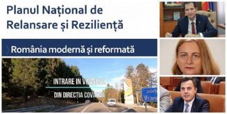 "Sefii PNL Vrancea isi ""ling ranile"" dupa Congres fudulindu-se cu investitiile din judet cuprinse in PNRR aprobat ieri de CE"