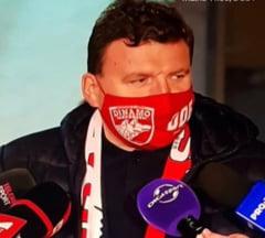"Sefii dinamovisti, amenintati de suporteri. "" Sa nu te mai prinda Ignatul pe aici. Sapati groapa lui Dinamo"""