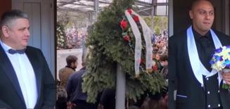 Sefii interlopi la inmormantarea nepotului lui Romulus Markovics. Gruparea Sportivilor din Bucuresti si-a trimis un locotenent
