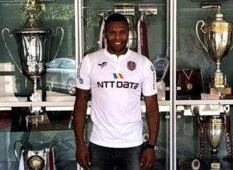 Sefii lui CFR Cluj il lauda pe Julio Baptista dupa 42 de minute jucate pentru campioana