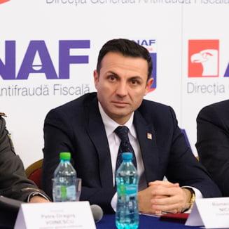 Seful ANAF ii cere lui Ponta sa il suspende pe vicepresedintele institutiei, suspectat de coruptie