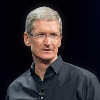 Seful Apple isi doneaza averea