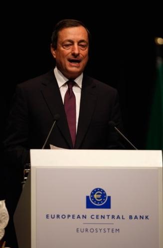 Seful BCE: Exista riscuri majore de scadere economica