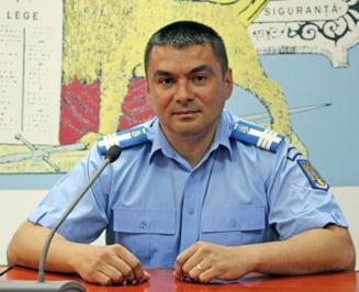 Seful Jandarmeriei, prima iesire dupa violente: Nicio scuza, discurs cu nuante politice. A fugit de jurnalisti (Video)