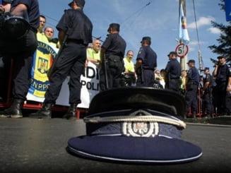 Seful Jandarmeriei Capitalei, demis ca urmare a protestului politistilor