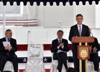 Seful NATO, dupa inaugurarea scutului de la Deveselu: Aparam Romania impotriva oricarei amenintari