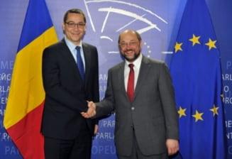 Seful Parlamentului European, la lansarea lui Ponta pentru Cotroceni: Avem o misiune comuna