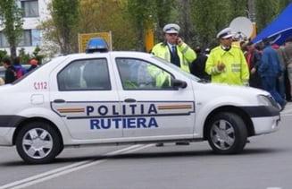 Seful Politiei Rutiere Brasov, acuzat de coruptie, a fost retinut