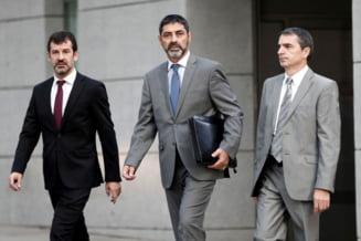 Seful Politiei catalane este acuzat de activitati separatiste si a fost plasat sub control judiciar