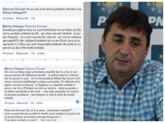 """Seful de campanie al PNL Alba, agramat si agresiv pe Facebook: """"Nu avem nevoie de votul dv. Pe noi ne voteaza 60% din cetateni"""""""