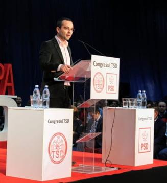 Seful organizatiei de tineret a PSD a votat motiunea de cenzura