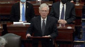Seful senatorilor republicani, Mitch McConnell, nu a exclus sa voteze pentru destituirea lui Trump
