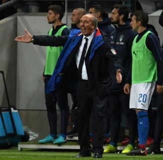 Selectionerul Italiei si-a cerut scuze dupa ratarea calificarii la Cupa Mondiala
