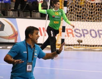 """Selectionerul Romaniei, suparat pe """"tricolore"""" dupa victoria cu Angola de la Mondialul de handbal"""