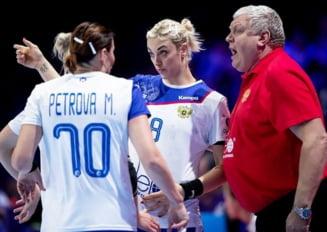 Selectionerul Rusiei a rabufnit inaintea semifinalei cu Romania de la Campionatul European de handbal feminin