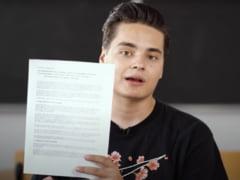 Selly, scrisoare deschisa catre premierul Ludovic Orban. Cele patru solutii propuse de vlogger pentru reformarea sistemului de educatie