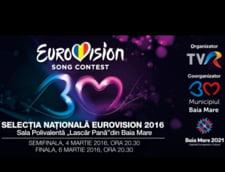 Semifinala Eurovision Romania: Piesele care intra in concurs