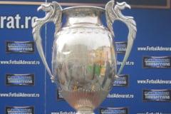 Semifinalele Cupei Romaniei la fotbal