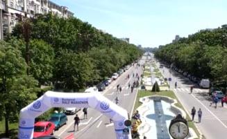 Semimaraton de solidaritate: Sute de oameni au alergat pentru bolnavii incurabili si copiii nascuti prematur