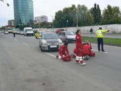 """Semnal de alarma pentru siguranta rutiera: Pieton """"spulberat"""" pe bulevardul """"1 Mai"""""""