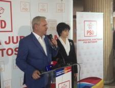 Senatorul Doina Federovici, care-i cerea lui Liviu Dragnea sa candideze la Presedintia Romaniei, s-a inscris in cursa pentru functia de sef al CJ Botosani