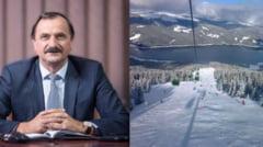 Senatorul Romulus Bulacu, despre situatia partiei de schi de la Voineasa