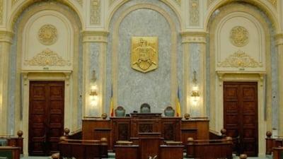 Senatul se reuneste marti in plen. Vor fi alesi membrii Biroului permanent
