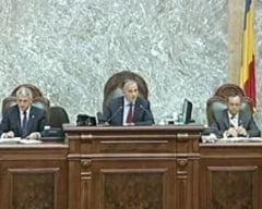 Senatul si-a ales noul Birou Permanent, Voiculescu ramane vicepresedinte