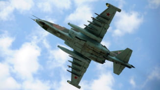 Separatistii pro-rusi au doborat un avion de lupta ucrainean SU-25 (Video)