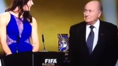 Sepp Blatter, acuzat de hartuire sexuala: Ce ar fi facut la ceremonia Balonului de Aur