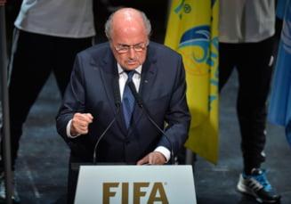 Sepp Blatter a demisionat de la sefia FIFA - oficial