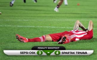 Sepsi OSK, eliminata dramatic din Conference League