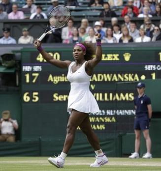 Serena Williams, campioana la Wimbledon