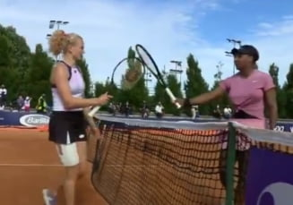 Serena Williams, eliminare socanta la Parma. Cine e necunoscuta care a surclasat-o pe americanca VIDEO