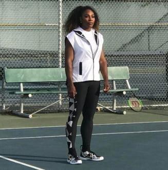 Serena Williams, mesaj emotionant despre sarcina sa: Dragul meu copil