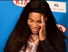 Serena Williams, pusa intr-o postura incredibila inainte de Australian Open
