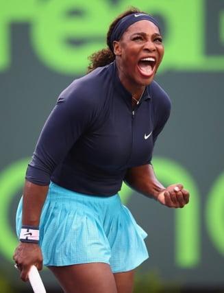 Serena Williams, victorie categorica la Miami, in turul III. Ce record urias a bifat