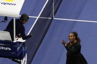 Serena Williams a mai socat si in alta ocazie lumea tenisului. Ce s-a intamplat in 2009, cand a amenintat cu moartea o arbitra (Video)