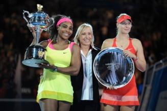 Serena Williams ii raspunde Mariei Sharapova, dupa ce rusoaica a spus ca a vazut-o plangand in vestiar