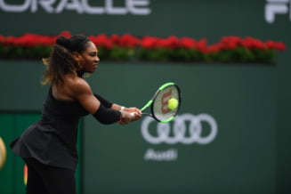 Serena Williams isi continua parcursul la Indian Wells, fara set pierdut