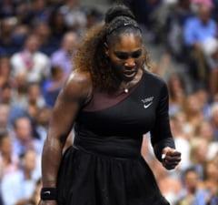 Serena Williams s-a calificat in semifinale la US Open