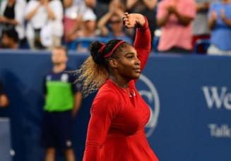 Serena Williams s-a retras de la Cincinnati