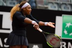 Serena Williams s-a retras de la Roma