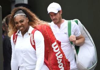 Serena Williams si Andy Murray au fost eliminati de la Wimbledon