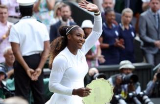 Serena Williams va fi adversara Simonei Halep in finala de la Wimbledon