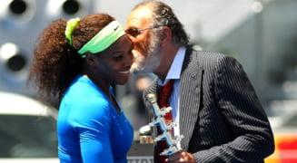 Serena continua razboiul cu Tiriac: americanca rade de varsta magnatului roman